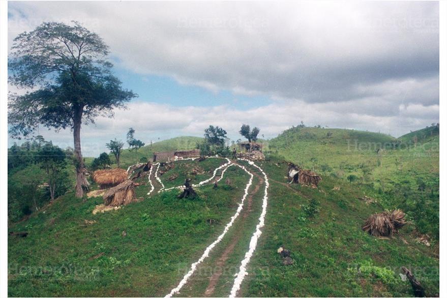 Línea de adyacencia entre Guatemala y Belice. (Foto: Hemeroteca PL)