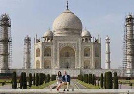 Duques en el Taj Mahal 24 años después de Diana.