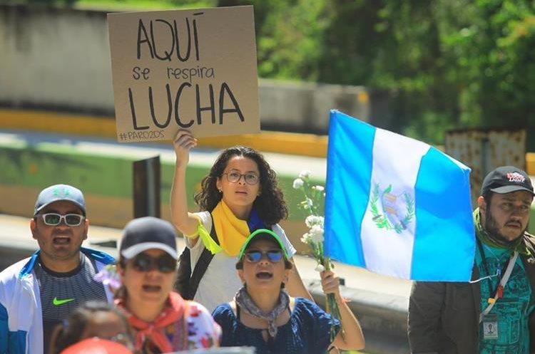 En las últimas semanas, muchos guatemaltecos han manifestado que el diálogo llega tarde a sus demandas. (Foto Prensa Libre: Hemeroteca PL)
