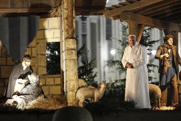 El Papa confesó que de pequeño le hubiera gustado ser carnicero. (Foto Prensa Libre: EFE)