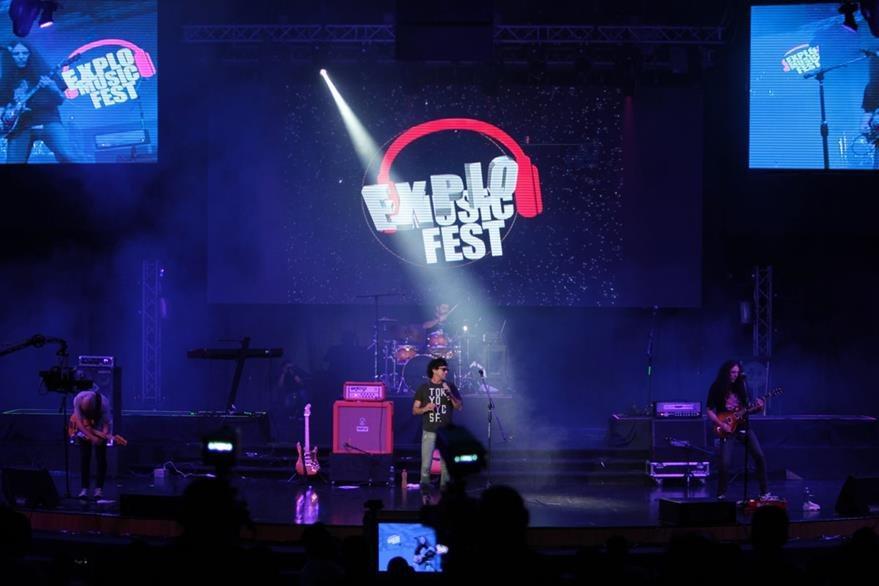 Rescate es una de las banda que más hizo danzar a los presentes. (Foto Prensa Libre: Ángel Elías)