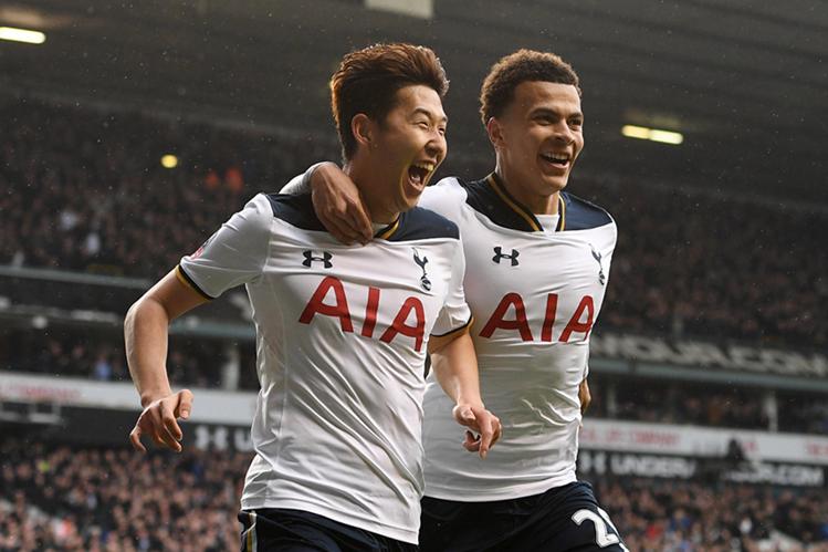 Tottenham aplastó a Millwall y avanzó a semifinales