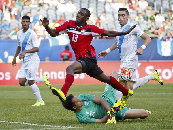 Trinidad y Tobago superó a Guatemala en su último enfrentamiento (Foto Prensa Libre: Hemeroteca PL)
