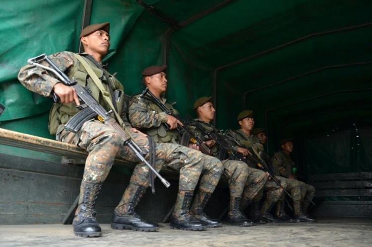 Mil 500 soldados serán desplegados en los municipios del altiplano marquense. (Foto Prensa Libre: @Ejercito_GT)