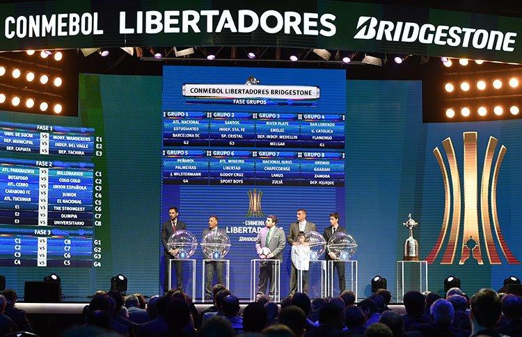 Los grupos están definidos para la Copa Libertadores del próximo año. (Foto Prensa Libre: Conmebol)