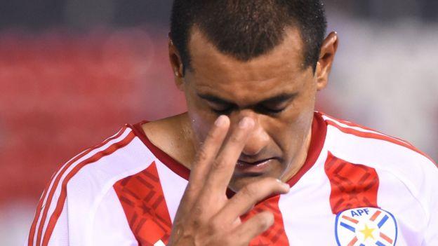 Paraguay llegó a tener la clasificación de cara, pero tras dos derrotas la tienen cuesta arriba. (Foto Prensa Libre: Getty Images)