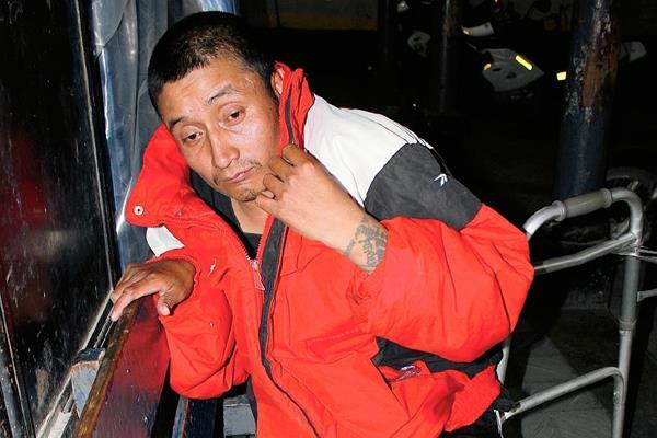 Augusto Fermín Sis itzep es acusado de haber abusado de un adolescente de 14 años en Santa Cruz del Quiché, Quiché. (Foto Prensa Libre: Óscar Figueroa)