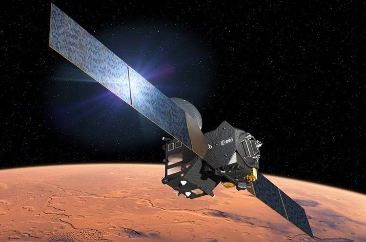Satélite europeo permanecera en órbita sobre Marte. (AFP)