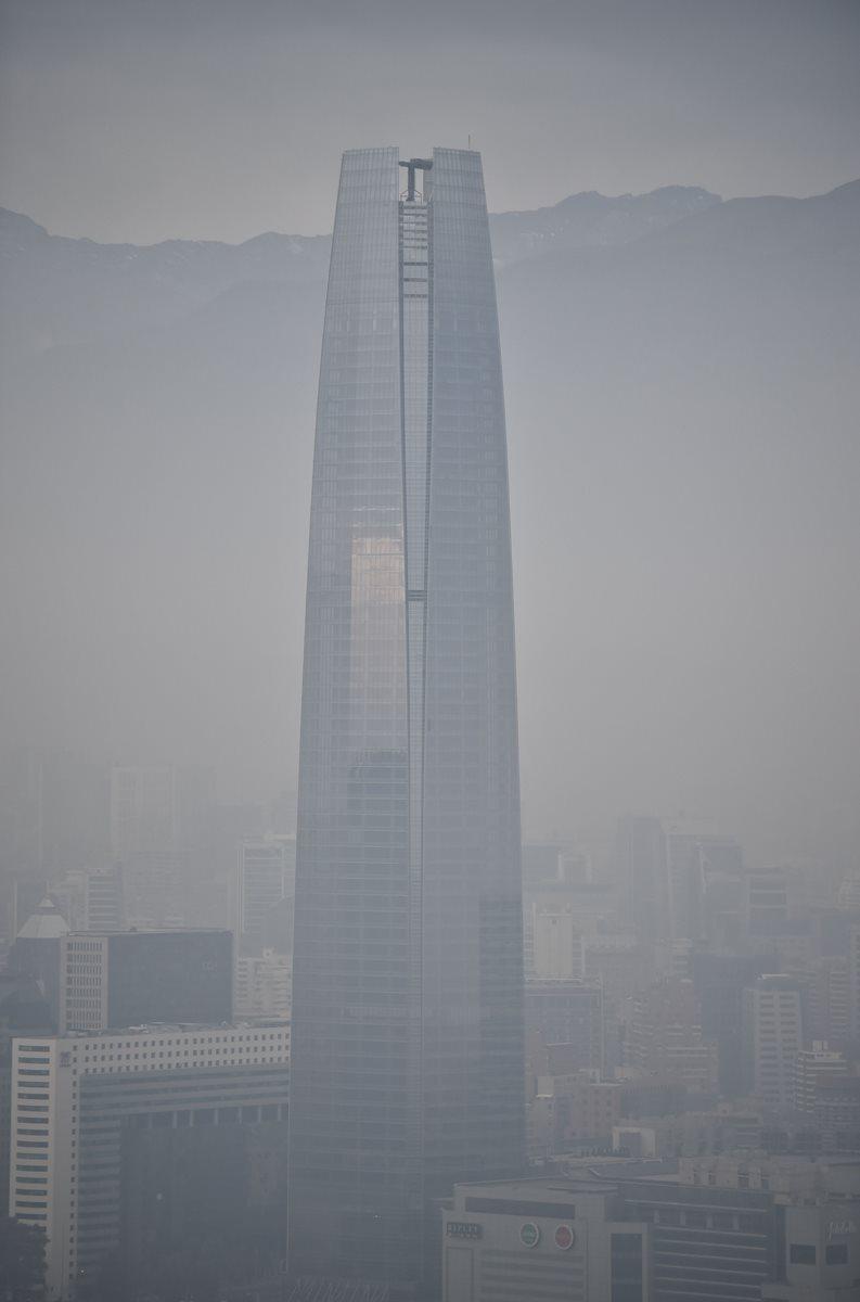 Las autoridades decretaron estado de emergencia por el alto grado de polución. (Foto Prensa Libre: AFP).