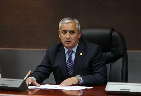 Presidente Otto Pérez Molina. (Foto Prensa Libre: Erick Ávila)