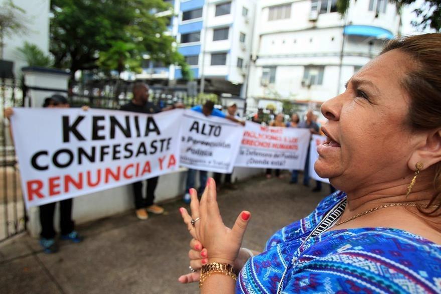 Acusaciones de corrupción contra expresidente Martinelli divide a panameños. (EFE)