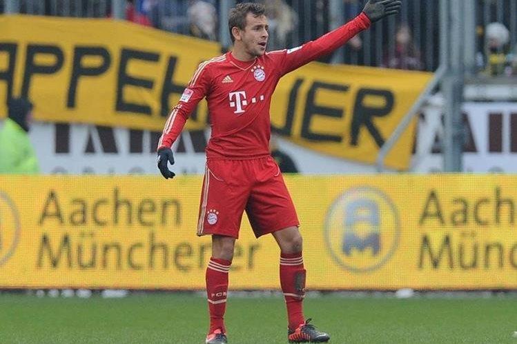 Rafinha es conciente que antes de él hay varios que pueden ser llamados a la Selección alemana de futbol. (Foto Prensa Libre: Agencias)