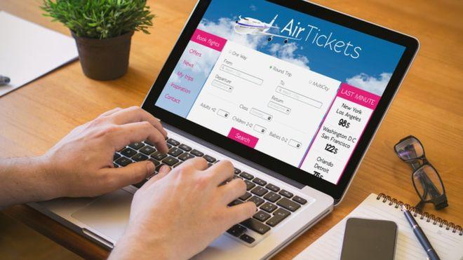Reservar un vuelo por internet es sencillo, pero no necesariamente seguro en lo que respecta a la privacidad. (THINKSTOCK)