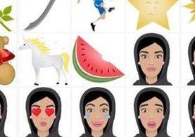 Un ejemplo de los emoticones de HALLA WALLA. (HALLA WALLA)