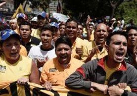 La oposición espera una manifestación masiva. GETTY IMAGES