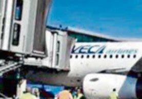 VECA es una línea aérea salvadoreña.