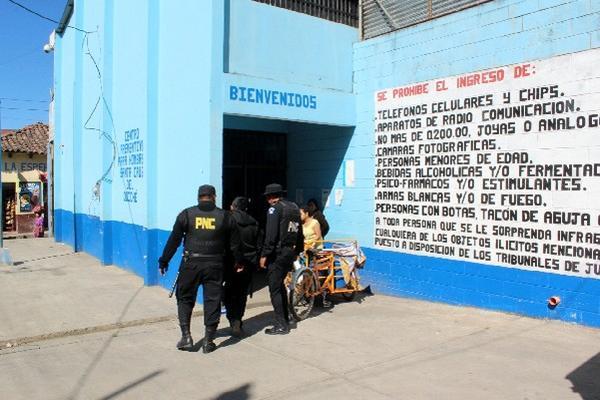Centro  de detención que fue requisado.
