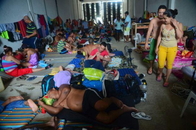 Muchos cubanos han optado por llegar a Estados Unidos por tierra, atravesando Centroamérica y México. (AFP).