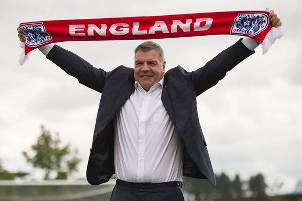 Sam Allardyce de Inglaterra le propuso a Coleman, formar un equipo de Gran Bretaña para los próximos Juegos Olímpicos. (Foto Prensa Libre: AFP)