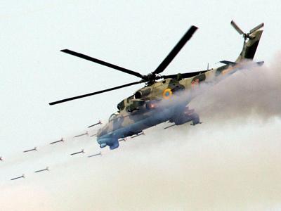 Prototipo del helicóptero derribado por el EI en Siria (Foto referencial: Hemeroteca PL)