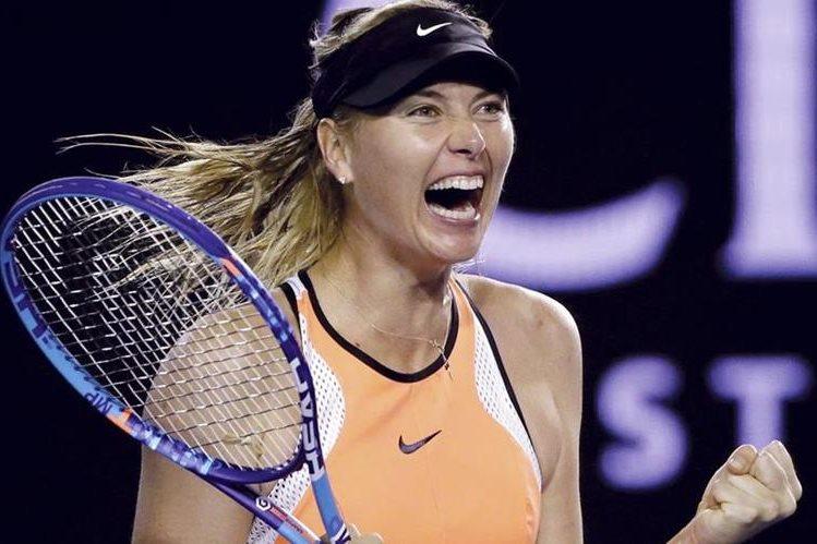 Los patrocinadores de María Sharapova le han dado la espalda tras su declaraciones de posible dopaje. (Foto Prensa Libre. Hemeroteca PL)