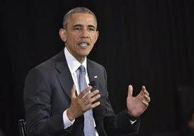 El presidente de EE.UU., Barack Obama, y la presidenta de la Reserva Federal (Fed), Janet Yellen, se reunieron en la Casa Blanca. (Foto Prensa Libre: AFP)
