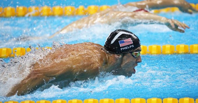 Michael Phelps es el máximo ganador de medallas de oro en Juegos Olímpicos. (Foto Prensa Libre: AFP).