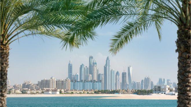 """El """"oasis tecnológico"""" de Dubái busca competir con el Valle del Silicio californiano. GETTY IMAGES"""