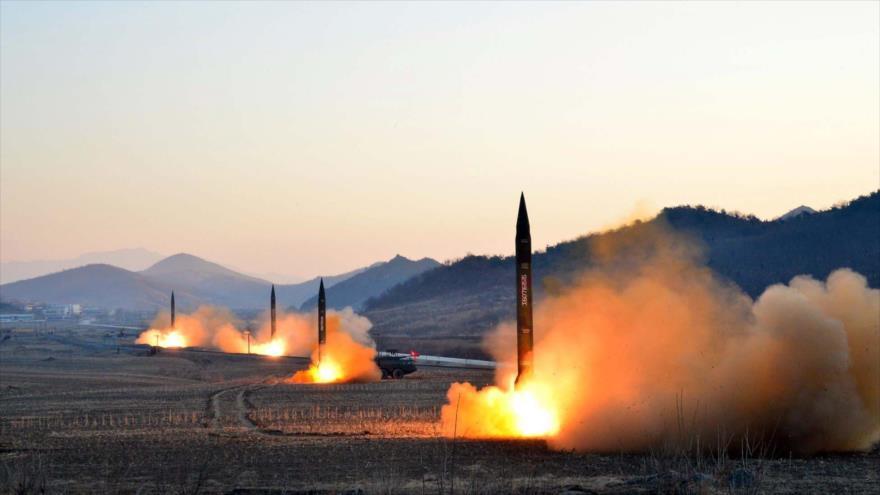 Corea del Norte ha mostrado sus potentes misiles como una amenaza a EE. UU. (Foto: Hemeroteca PL)