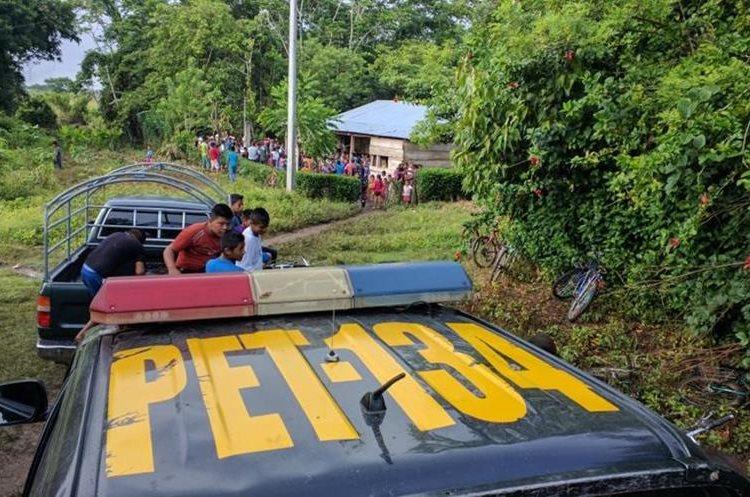 La comunidad queda a unos 45 km del casco urbano de Sayaxche. (Foto Prensa Libre: Rigoberto Escobar)