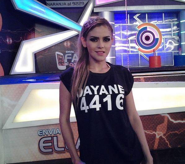 Dayane Rivas tuvo un incidente matemático que provocó burlas en las redes sociales. (Foto Prensa Libre: Instagram)
