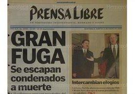 Portada de Prensa Libre del 11/1/2000. (Foto: Hemeroteca PL)