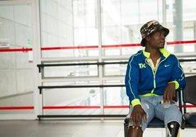 El soldado Stivinson Mena Rivas perdió la pierna izquierda, un dedo y tuvo lesiones en sus genitales externos cuando pisó una mina antipersonal en 2015. GREGORIO MARIÑO