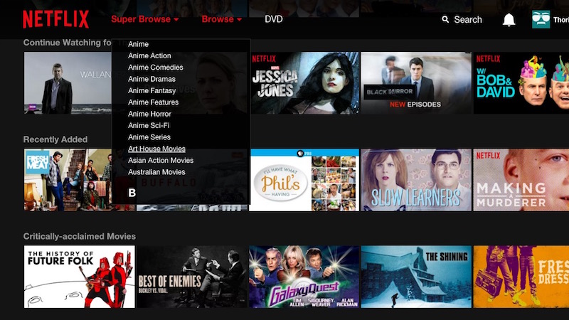 Con Super Browse prepárese para pasar más tiempo pegado a Netflix. (Foto: Hemeroteca PL).