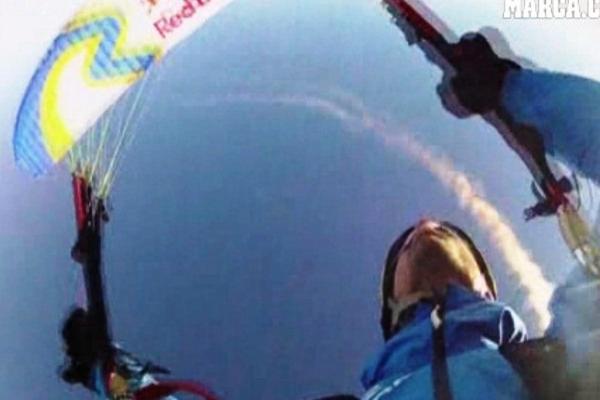 <p>Horacio Llorens, de España, estableció un récord en parapente en Takalik Abaj. (Foto Prensa Libre: Archivo)<br></p>