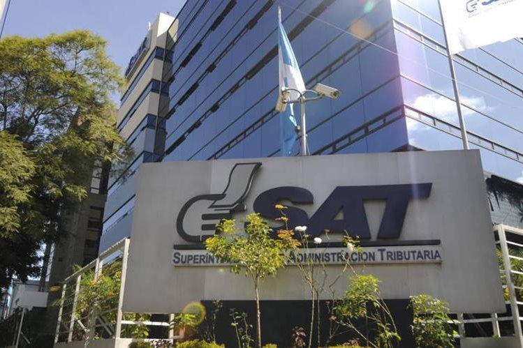 Sede de la SAT, ubicada en la zona nueve de la ciudad capital. (Foto Prensa Libre: Hemeroteca PL)