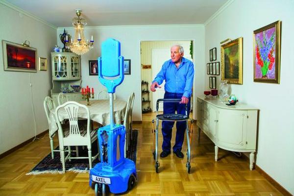 <p>En breve robots vigilarán la salud de los ancianos en su casa y los conectará con su familia y con los especialistas en medicina. Foto Prensa Libre: tecnologia.elpais.com</p>