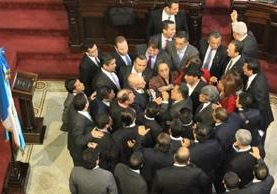 El Congreso tendrá una junta directiva impuesta por el Frente de Convergencia Nacional, no es garantía que una nueva reforma fiscal. (Foto Prensa Libre: Hemeroteca PL)