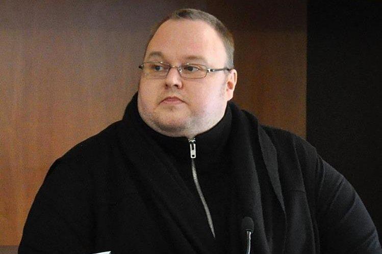 El emprendedor de internet el alemán-finlandés Kim Dotcom enfrenta a la justicia. (Foto Prensa Libre: EFE).