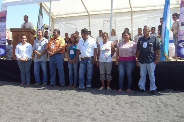 La junta directiva del CAT toma juramento en Puerto San José, Escuintla.