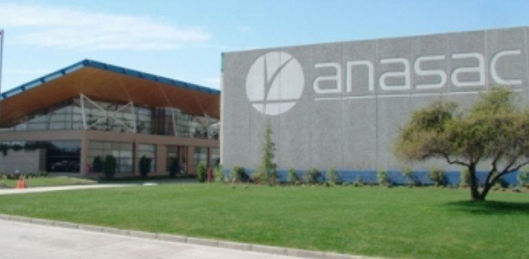 La empresa Anasac cuenta con presencia en más de 14 países a nivel mundial.(Foto Prensa Libre: diariodefusiones.com)