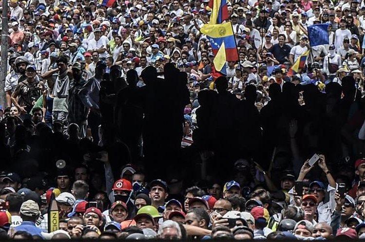 La oposición venezolana se organizó este miércoles para nueva protesta en contra de Nicolás Maduro.