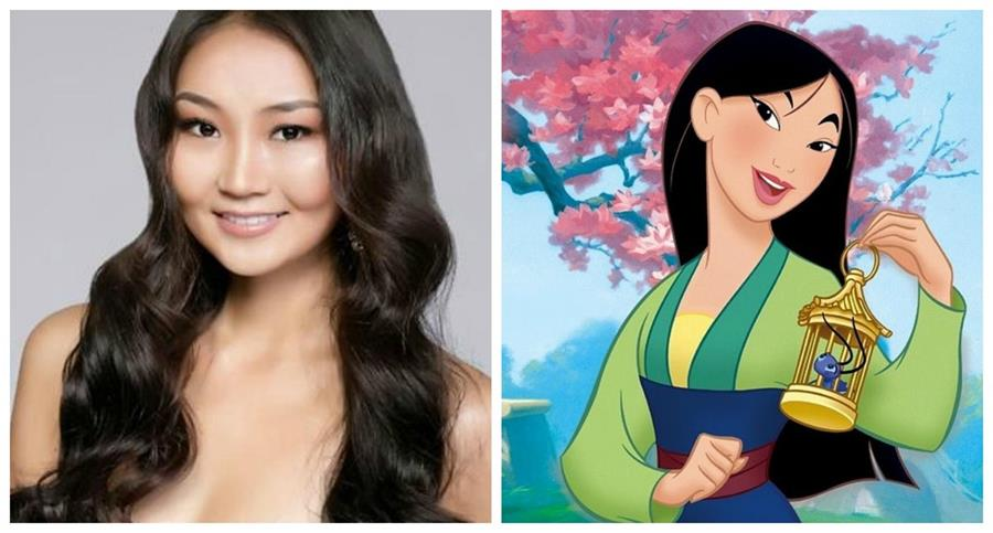 La ex Miss Mongolia Altangerel Bayartsetseg podría encarnar al personaje de Disney. (Foto Prensa Libre: missosology.org)