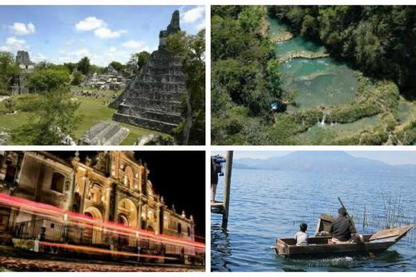 <p>Algunos de los sitios que visitaran los becarios. (Foto Prensa Libre: Archivo)</p>