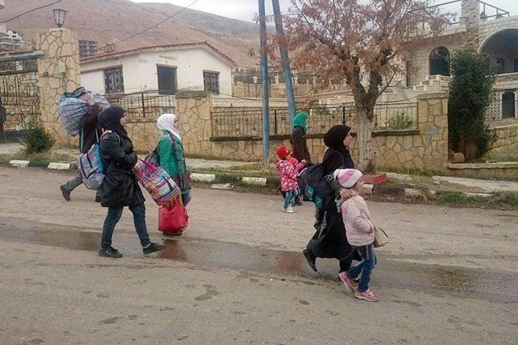 Varias ciudades sirias se encuentran en situación crítica. (Foto Prensa Libre: AFP).