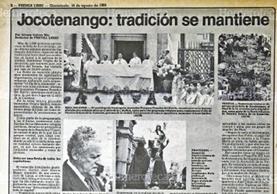 Actividades de la celebración de la Virgen de la Asuncion (Foto: Hemeroteca PL)