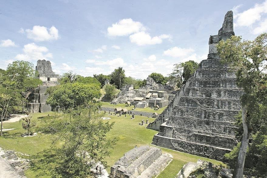 Fotografía del Parque Nacional Tikal. (Foto Prensa Libre: Hemeroteca PL)