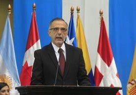 Si no se fortalece el sistema de justicia, la lucha contra la impunidad es un discurso, dijo el comisionado Iván Velásquez. (Foto Prensa Libre: E. Bercian)