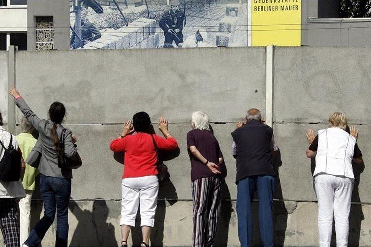 El muro dividió la ciudad durante 28 años hasta su caída el 9 de noviembre de 1989. (Foto Hemeroteca PL).