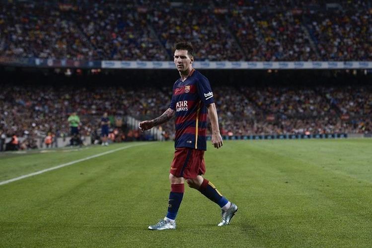 Messi empezó su carrera vistiendo los colores azulgranas y para muchos es el lugar donde se debería de retirar. (Foto Prensa Libre: Hemeroteca PL)
